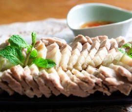 Thịt ba chỉ hấp Hà Giang ăn một lần nhớ mãi