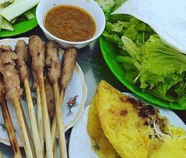 Món bánh xèo Bà Dưỡng đặc sản Đà Nẵng