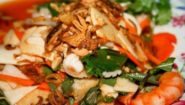 Món ăn từ cổ hũ dừa