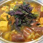 Món cà bung nấu thịt ba chỉ đậm đà ngon cơm