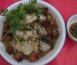 Món cá dảnh kho trái giấm độc đáo của người dân miền Tây