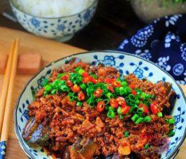 Món cà tím xào thịt cay lạ miệng ngon cơm