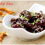 Món thịt bò kho tiêu ngon bổ dưỡng tại nhà