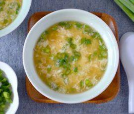 Món súp đậu Hà Lan trứng gà ngon khó cưỡng