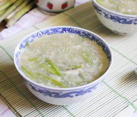 Món súp gà măng tây ngon lạ miệng