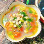 Món canh hến nấu riêu giải nhiệt ngày nắng nóng