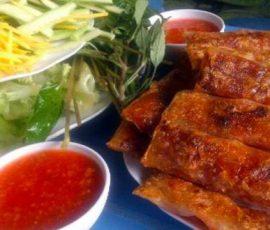 Chả lụi La Gi - món ngon nức tiếng Bình Thuận