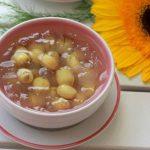 Món chè nha đam hạt sen vừa bổ dưỡng vừa giải nhiệt
