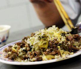 Cơm rang bò Hà Giang món ăn ngon của cao nguyên đá