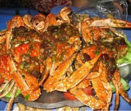 Ghẹ rang me  Nha Trang – Món ngon mang đậm vị của biển