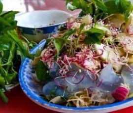 Gỏi nuốt Quảng Trị - món ăn giải nhiệt ngày hè