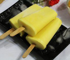 Món kem dứa sữa chua mát lạnh