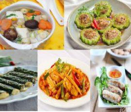 Thực đơn các món chay cho ngày Rằm cực hấp dẫn