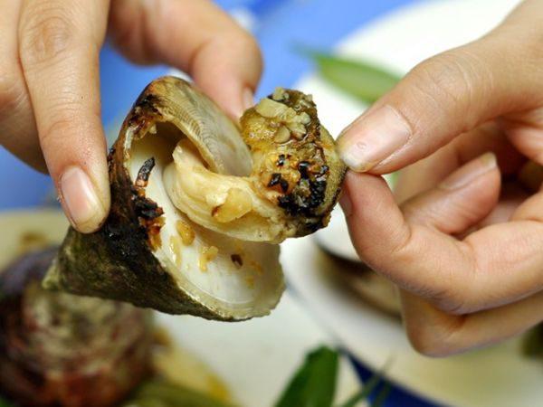 Món ăn từ ốc vú nàng ngon của Hội An