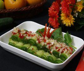 Món salad dưa chuột chua cay giải ngán