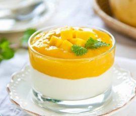 Món sinh tố xoài sữa chua ngon bổ dưỡng