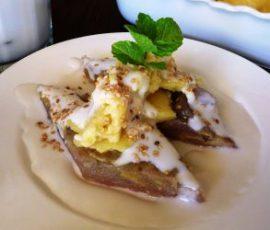 Món bánh chuối hấp nước cốt dừa dẻo thơm ngon tuyệt