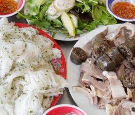 Món bánh hỏi lòng heo Phú Long Bình Thuận
