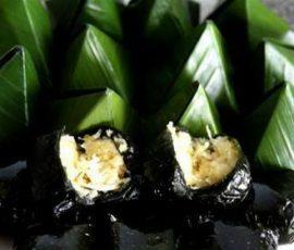 Bánh ít lá gai Bình Định món quà quê đơn sơ mộc mạc