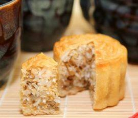 Nguyên liệu làm món bánh trung thu nhân dừa thơm ngon:
