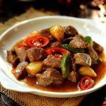 Món thịt bò rim tỏi ớt ngon đậm đà