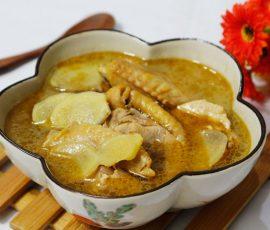 Món canh gà nấu dầu mè ngon bổ dưỡng