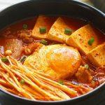 Món canh kim chi thịt heo ngon chuẩn vị Hàn Quốc