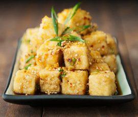 Món đậu phụ sốt vừng giản dị ngon cơm
