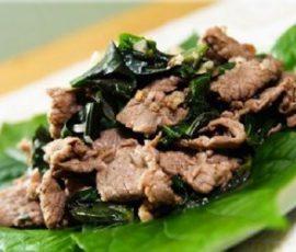 Thịt dê xào lá lốt thơm nức mũi cả nhà cùng mê