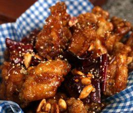 Món cánh gà rán kiểu Hàn thơm ngon giòn rụm