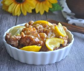 Món gà rán sốt chanh chua dịu thơm ngon ai cũng thích