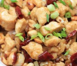 Món gà xào đậu phộng ngon tuyệt của người Hoa