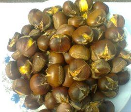 Bí quyết luộc hạt dẻ mau chín nhân bở dễ bóc