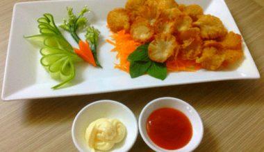 Món nấm bào ngư chiên giòn ăn là thích mê