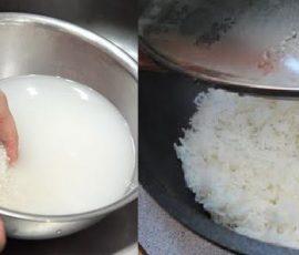 Sai lầm khi nấu cơm bạn cần biết để tránh mắc phải