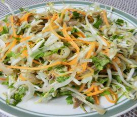 Món nộm gà hành tây thơm ngon bổ dưỡng