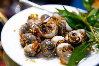 Món ốc mỡ xào tỏi ngon suýt xoa cho ngày mưa