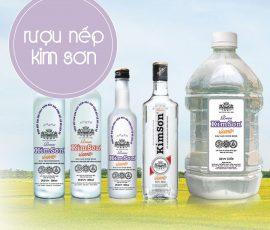 Rượu Kim Sơn Ninh Bình vị cay nồng nàn