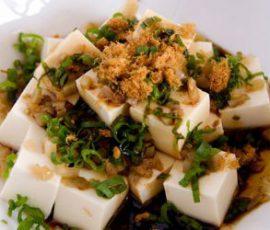 Món salad đậu phụ giải ngán cho cả gia đình