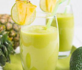 Món sinh tố bơ thơm mát lạnh giải nhiệt ngày nắng