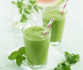 Món sinh tố đậu xanh rau má tươi mát bổ dưỡng