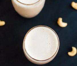 Món sữa hạt điều cung cấp dinh dưỡng cho bé yêu