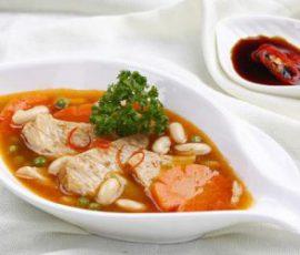 Món sườn chay nấu đậu phụ thơm nức cho mùa Vu lan
