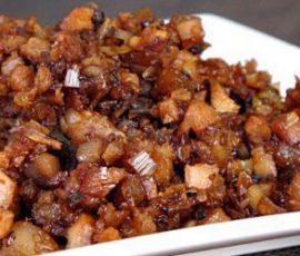Món thịt ba chỉ chưng mắm tép ngon miễn chê