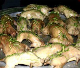 Thịt chuột hấp lá chanh của người dân miền Tây Nam Bộ