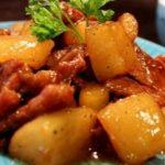 Món thịt kho củ cải trắng thơm ngon đúng vị