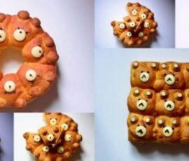 Món bánh Chigiri Pan Nhật Bản ngon chuẩn vị
