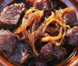 Món bò kho gừng thơm ngon cho ngày cuối tuần