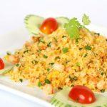 Món cơm chiên dương châu đơn giản ngay tại nhà