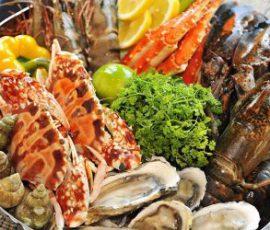 Khi ăn hải sản cần lưu ý để tránh bị ngộ độc